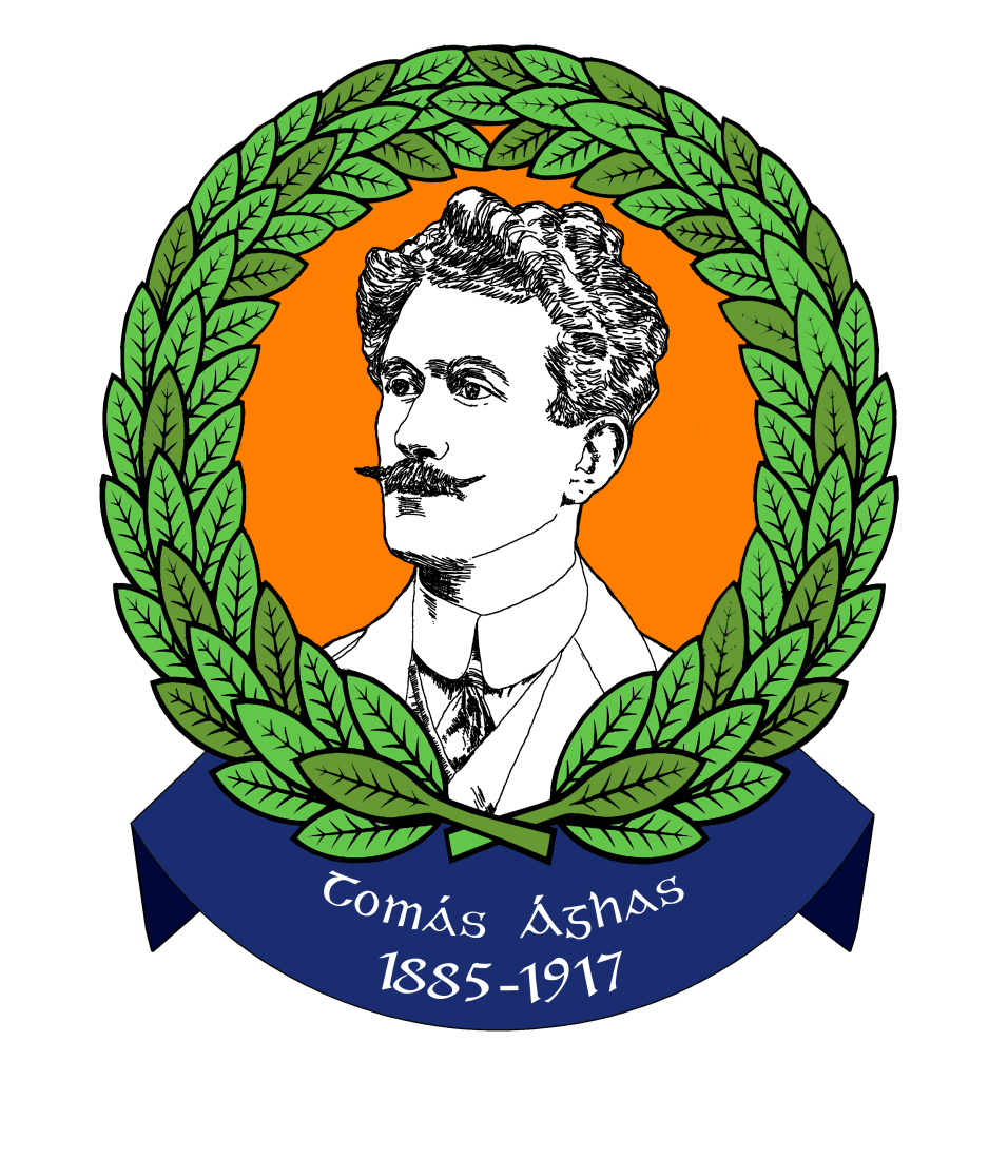 Logo design (2) for the commemoration of the life of Thomas Ashe, d. 1917